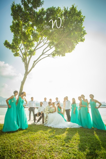 hong kong wedding day婚禮 香港 photo by wade w